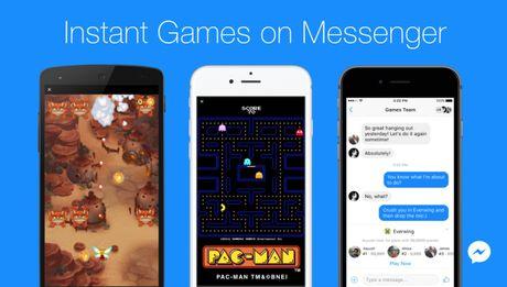 Facebook ra mat Instant Games tren Messenger - Anh 1