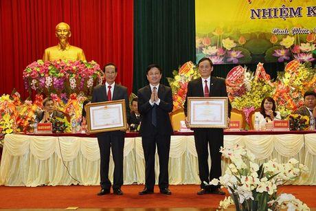 Dai hoi Hoi Nha bao Vinh Phuc lan thu VII (nhiem ky 2016- 2021) - Anh 1
