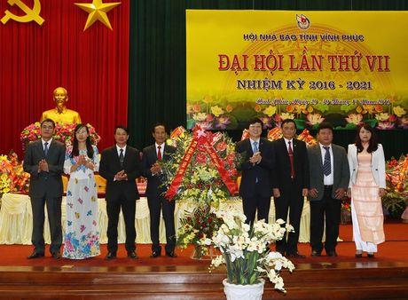 Dai hoi Hoi Nha bao Vinh Phuc lan thu VII (nhiem ky 2016- 2021) - Anh 2