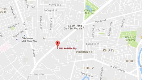 Uu tien Saigon Co.op dau tu trung tam thuong mai tai Ben xe mien Tay cu - Anh 1