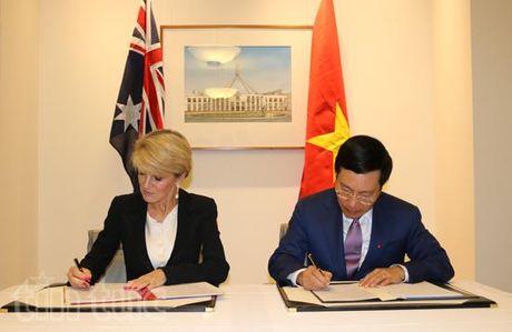 Pho Thu tuong, Bo truong Ngoai giao Pham Binh Minh tham Australia - Anh 2