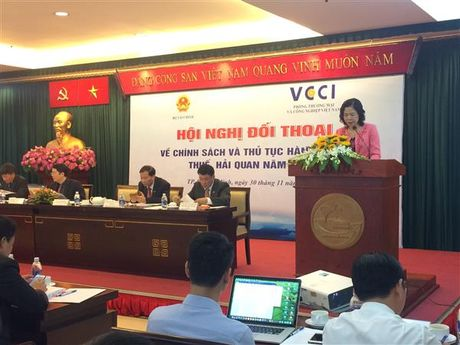 Thao go tren 30 cau hoi ve chinh sach thue- hai quan cho doanh nghiep phia Nam - Anh 1