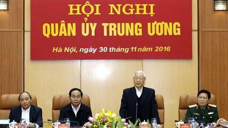Tong Bi thu: Nang cao chat luong, suc manh cua Quan doi - Anh 1
