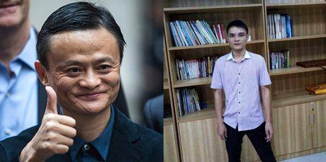 Thanh nien chi hon 3 ty dong de so huu guong mat giong Jack Ma - Anh 1