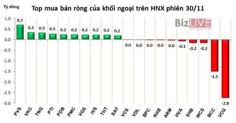 Phien 30/11: Thi truong 'song lai' sau phien mua rong gan 350 ty dong - Anh 2