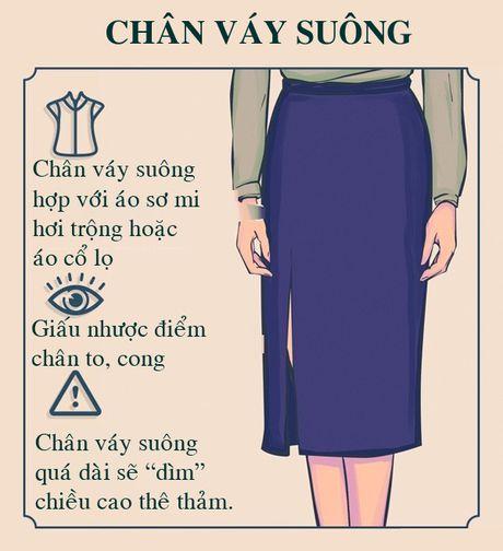 10 chiec chan vay 'dinh' cua co nang cong so - Anh 1