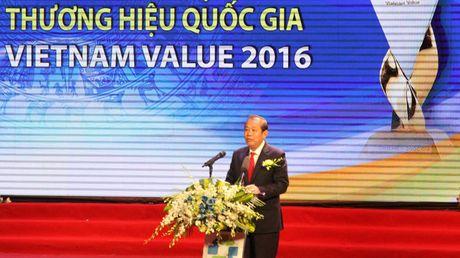 Trao giai cho 88 doanh nghiep dat Thuong hieu Quoc gia - Anh 1