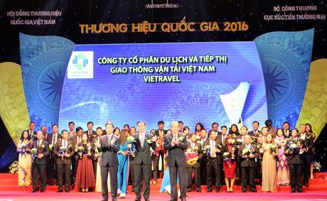 Trao giai cho 88 doanh nghiep dat Thuong hieu Quoc gia - Anh 2