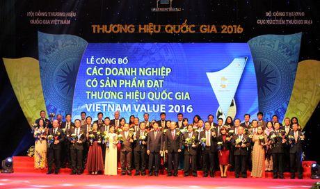 Trao giai cho 88 doanh nghiep dat Thuong hieu Quoc gia - Anh 3