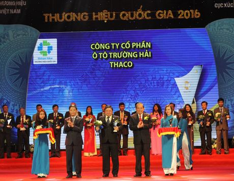 Trao giai cho 88 doanh nghiep dat Thuong hieu Quoc gia - Anh 4