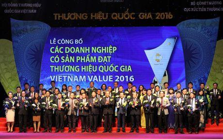 Trao giai cho 88 doanh nghiep dat Thuong hieu Quoc gia - Anh 5