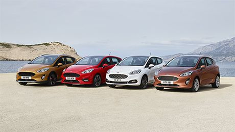 Ford Fiesta the he moi lo dien - Anh 1