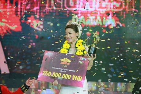 Vinh Thuyen Kim gianh ngoi Quan quan Nguoi Nghe Si Da Tai - Anh 1
