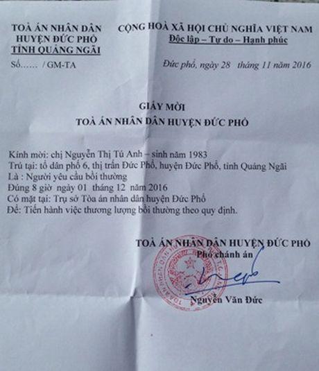 TAND huyen thuong luong boi thuong oan sai cho giam doc Cty Tu Anh - Anh 1