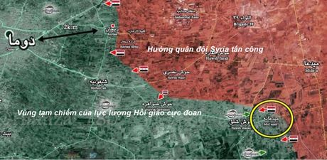 Chien su Syria: Diet luong lon phien quan, luc luong chinh phu chiem thi tran then chot - Anh 1