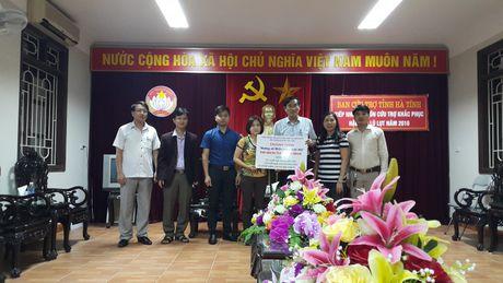 Hoi kieu bao Viet Nam tai Han Quoc huong ve dong bao vung lu - Anh 1