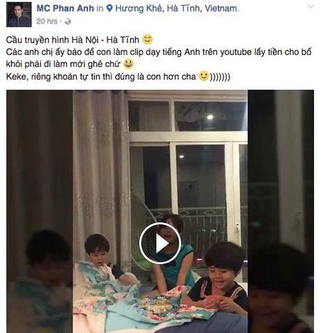 Cac con nha Phan Anh khoe kha nang noi tieng Anh 'nhu gio' - Anh 1