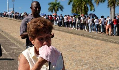 Hang chuc lanh dao cac nuoc den La Habana vieng Lanh tu Cuba - Anh 1