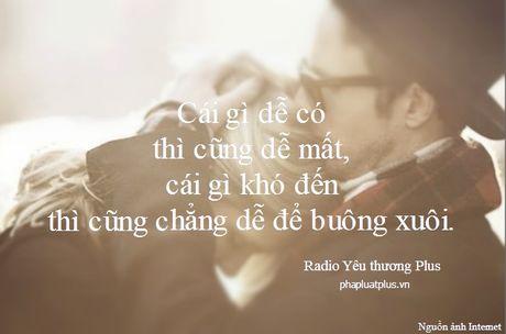 Radio Yeu thuong Plus so 61: Cho em gan anh them chut nua - Anh 1