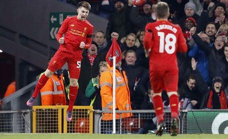 Sao tre pha ky luc cua Michael Owen, Liverpool vao ban ket Cup Lien doan - Anh 1