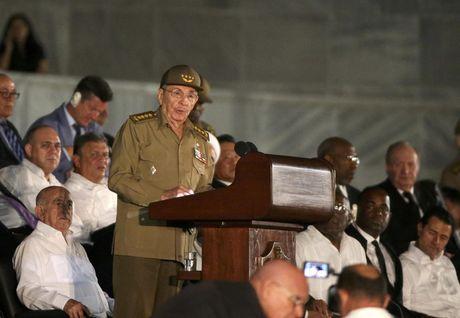Lanh dao the gioi do ve Cuba tuong niem lanh tu Fidel Castro - Anh 18