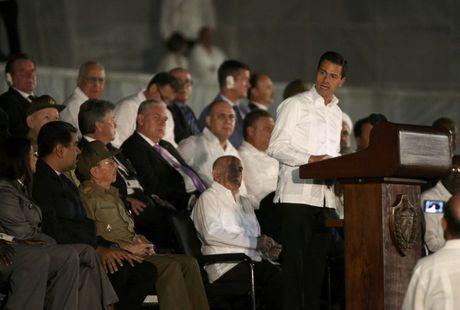 Lanh dao the gioi do ve Cuba tuong niem lanh tu Fidel Castro - Anh 2