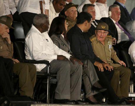 Lanh dao the gioi do ve Cuba tuong niem lanh tu Fidel Castro - Anh 4