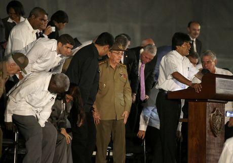 Lanh dao the gioi do ve Cuba tuong niem lanh tu Fidel Castro - Anh 5