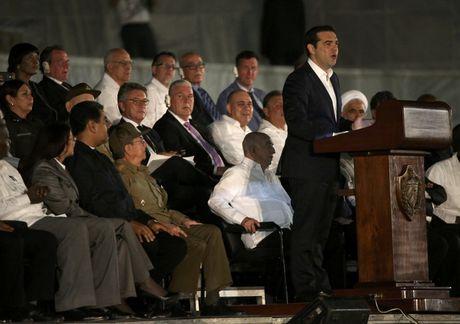 Lanh dao the gioi do ve Cuba tuong niem lanh tu Fidel Castro - Anh 6