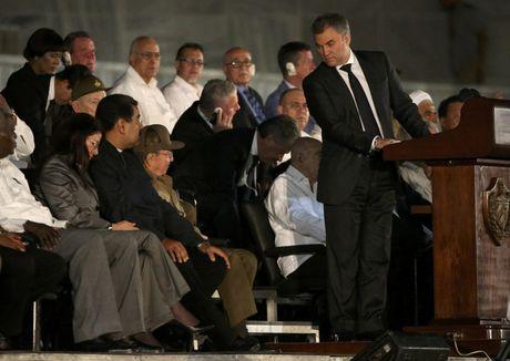 Lanh dao the gioi do ve Cuba tuong niem lanh tu Fidel Castro - Anh 7
