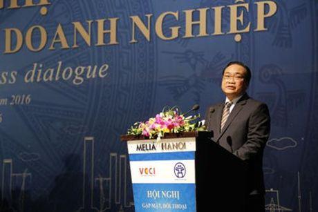 Bi thu Hoang Trung Hai de nghi Ha Noi can co co che rieng cho start-up - Anh 1