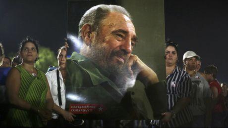 Cuba tien dua di hai lanh tu Fidel Castro ve Santiago de Cuba - Anh 1