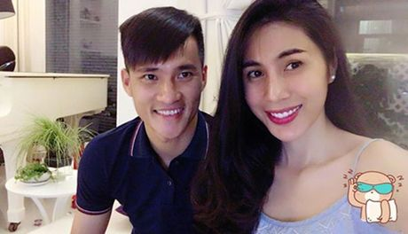 Thuy Tien tiet lo 'soc' ve Cong Vinh - Anh 1