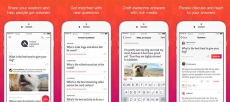 Yahoo lang le ra mat ung dung moi cho iPhone - Anh 1