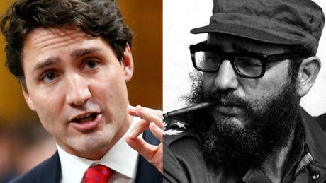 Thu tuong Canada chia buon su ra di cua Chu tich Fidel - Anh 1
