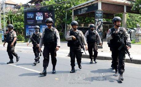 Indonesia trien khai 22.000 nhan vien an ninh giam sat bieu tinh - Anh 1