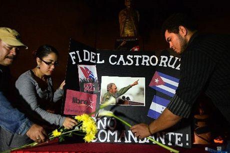 Ong Obama cu Dai su My vieng lanh tu Fidel Castro - Anh 2