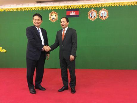 Som ky ket Chien luoc hop tac GTVT Viet Nam - Campuchia - Anh 1