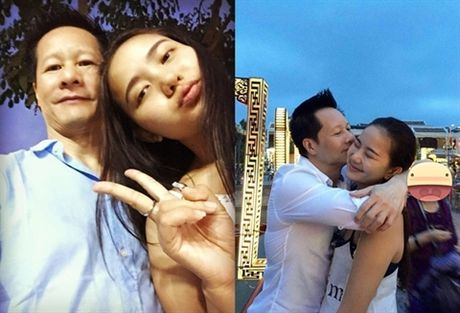 Duong tinh nhu mo cua ba chi em than nhat voi Ngoc Trinh - Anh 1