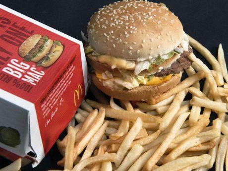 'Cha de' mon banh kep Big Mac bieu tuong qua doi o tuoi 98 - Anh 2