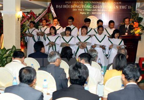 Khai mac Dai hoi dong lan thu 3 Hoi thanh Mennonite Viet Nam - Anh 1