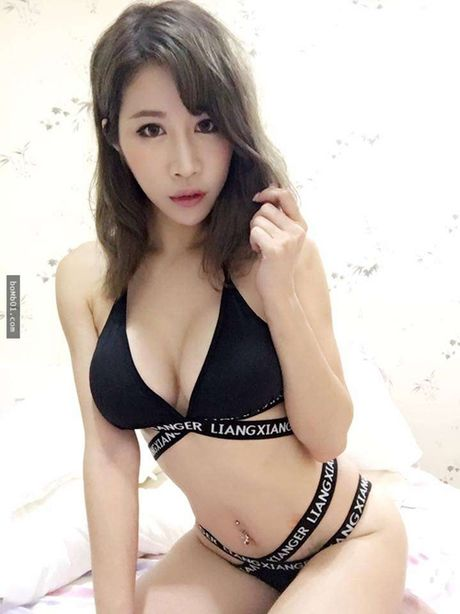 Hot girl ban thit xien nuong TQ khien quan an nuom nuop khach - Anh 9