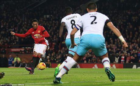 Man United 4-1 West Ham: Cu dup cua Ibrahimovic, Martial...va Mkhitaryan - Anh 4