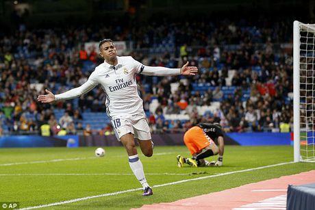 Cau ca Zidane ghi ban, Real Madrid thang lon tai Cup nha Vua - Anh 2