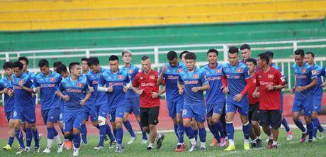 DT Viet Nam truoc tran gap Indonesia: Dung noi den tinh than - Anh 1