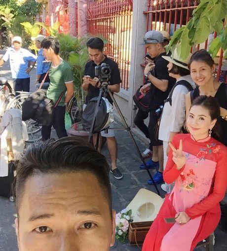 5 bo ao dai MC Mai Ngoc mac trong chuoi ngay trong dai - Anh 3