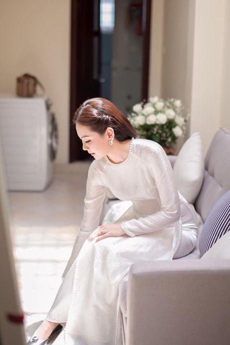 5 bo ao dai MC Mai Ngoc mac trong chuoi ngay trong dai - Anh 5