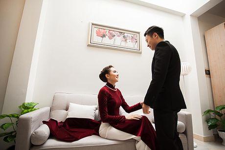 5 bo ao dai MC Mai Ngoc mac trong chuoi ngay trong dai - Anh 8