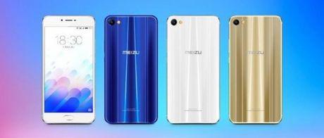 Meizu M3X chinh thuc ra mat: vi xu ly Helio X20, tuy chon 3GB/4GB RAM - Anh 1