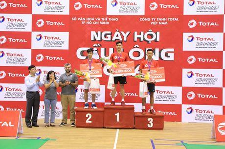Ngay hoi cau long Total 2016 – Hanh trinh truyen nang luong cho nhung nguoi tre - Anh 4